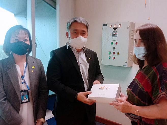 ดร. สุพจน์ ชินวีระพันธุ์ ผู้อำนวยการสมาคม พร้อมคณะผู้บริหาร เข้าพบ นางอัจฉรา  เจริญสุข ผู้อำนวยการสถาบันมาตรวิทยาแห่งชาติ